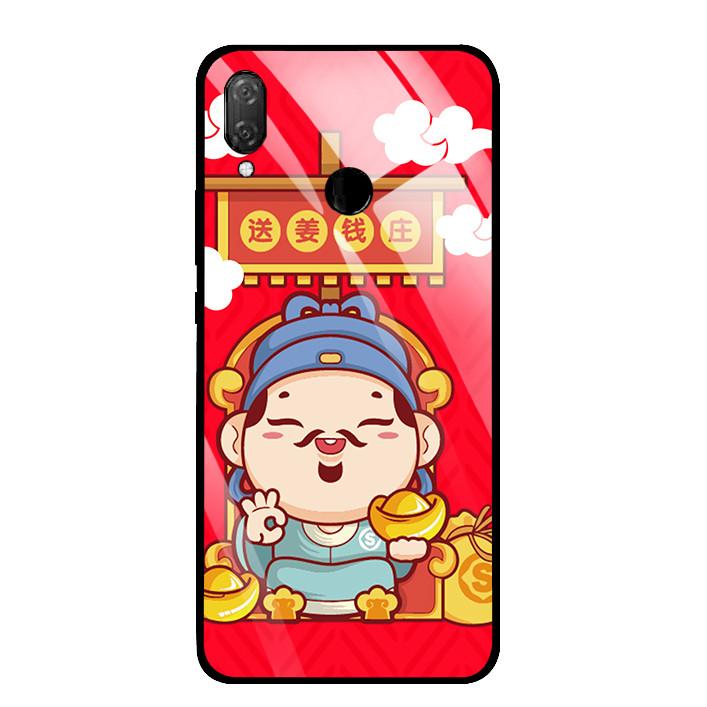 Ốp Lưng Kính Cường Lực cho điện thoại Huawei Y9 2019 - 03033 0090 THANTAI08 - Hàng Chính Hãng