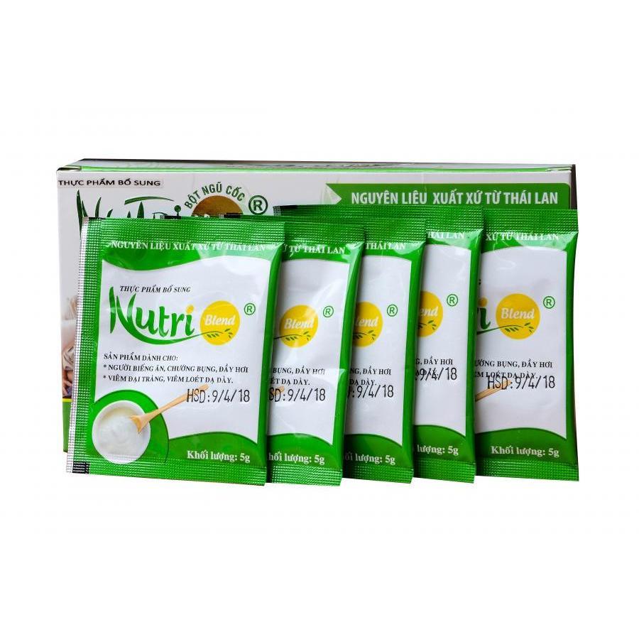 Thực phẩm chức năng Nutriblend hỗ trợ điều trị viêm loét dạ dày (Hộp 24 gói) - 1172766 , 5539414174298 , 62_4741537 , 436000 , Thuc-pham-chuc-nang-Nutriblend-ho-tro-dieu-tri-viem-loet-da-day-Hop-24-goi-62_4741537 , tiki.vn , Thực phẩm chức năng Nutriblend hỗ trợ điều trị viêm loét dạ dày (Hộp 24 gói)