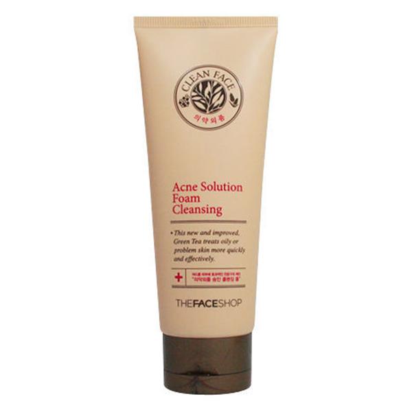 Sữa Rửa Mặt The Face Shop Clean Face Acne Solution Foam Cleansing 32200007 (150ml) - 891478 , 7505569081130 , 62_1581387 , 269000 , Sua-Rua-Mat-The-Face-Shop-Clean-Face-Acne-Solution-Foam-Cleansing-32200007-150ml-62_1581387 , tiki.vn , Sữa Rửa Mặt The Face Shop Clean Face Acne Solution Foam Cleansing 32200007 (150ml)