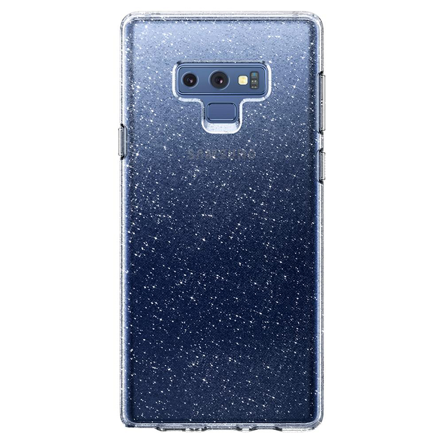 Ốp Lưng Samsung Galaxy Note 9 Spigen Liquid Crystal Glitter - Hàng Chính Hãng
