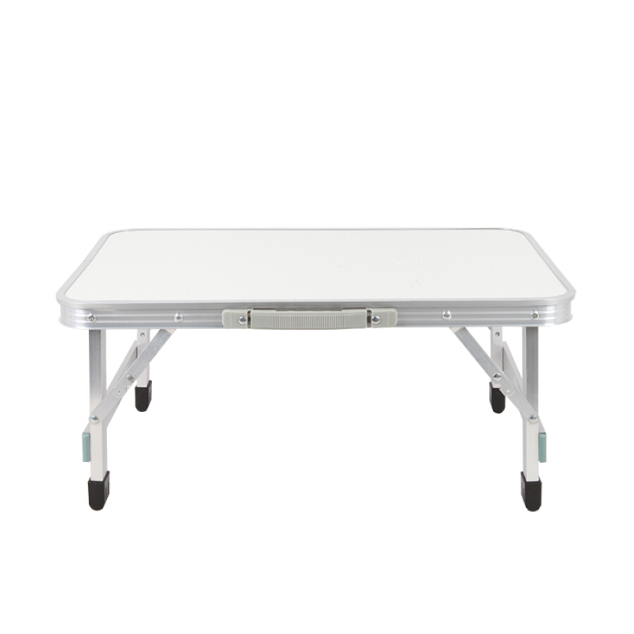 Easy Tour Easy Tour Folding Table Outdoor Portable Table and Chair Set Aluminum Folding Wild BBQ Stall Table White 60x40cm