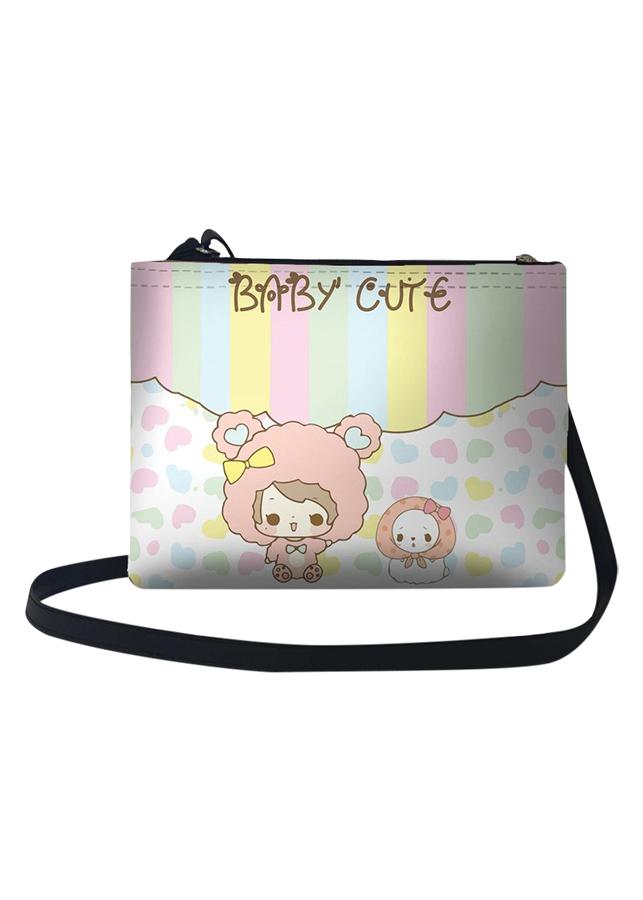 Túi Đeo Chéo Nữ In Hình Baby