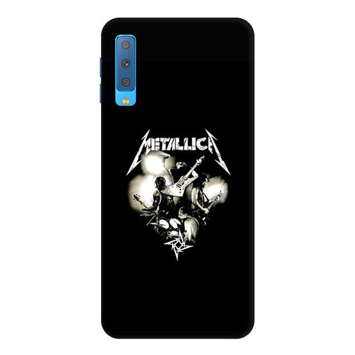 Ốp Lưng Dành Cho Điện Thoại Samsung Galaxy A7 2018 Metallica