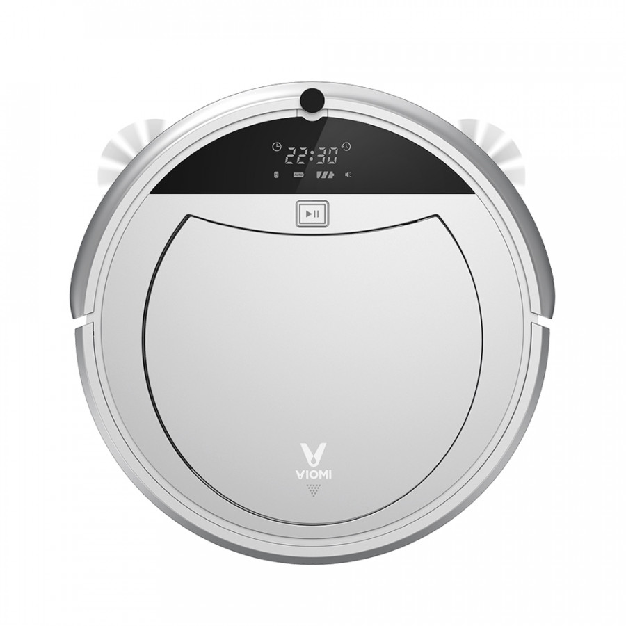 Global Version Xiaomi VIOMI VXRS01 Robot Vacuum Cleaner 1200Pa Sweeping Mopping Auto Self-recharge Planning Route - Silver  Black (EU Plug) - 9609341 , 2328186223432 , 62_19368176 , 6470000 , Global-Version-Xiaomi-VIOMI-VXRS01-Robot-Vacuum-Cleaner-1200Pa-Sweeping-Mopping-Auto-Self-recharge-Planning-Route-Silver-Black-EU-Plug-62_19368176 , tiki.vn , Global Version Xiaomi VIOMI VXRS01 Robot