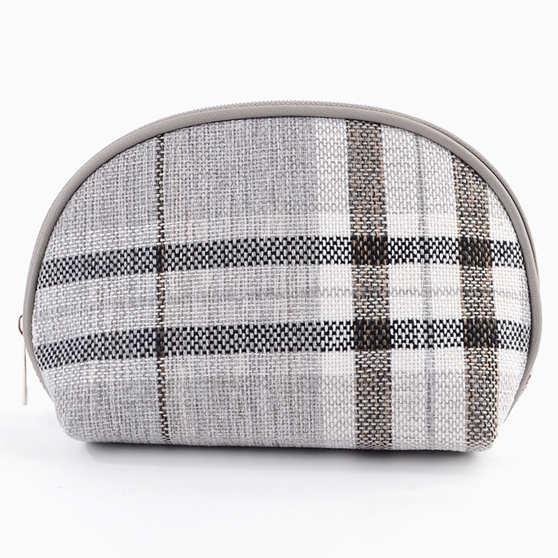 Túi đựng mỹ phẩm đồ trang điểm hình vỏ sò bằng vải cotton Minigood - DMCTB096