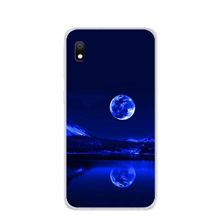 Ốp lưng dẻo cho điện thoại Samsung Galaxy A10 - 0269 MOON02 - Hàng Chính Hãng