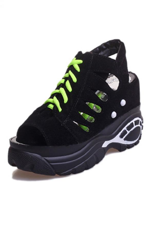Giày sandal nữ đế nâng cá tính S037 - 2036768 , 8479666865117 , 62_11630381 , 405000 , Giay-sandal-nu-de-nang-ca-tinh-S037-62_11630381 , tiki.vn , Giày sandal nữ đế nâng cá tính S037