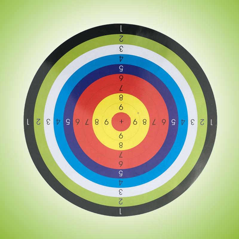 Shooting Paper Target Archery Ring Stripes Hunting Tool Pistol Airsoft Gun