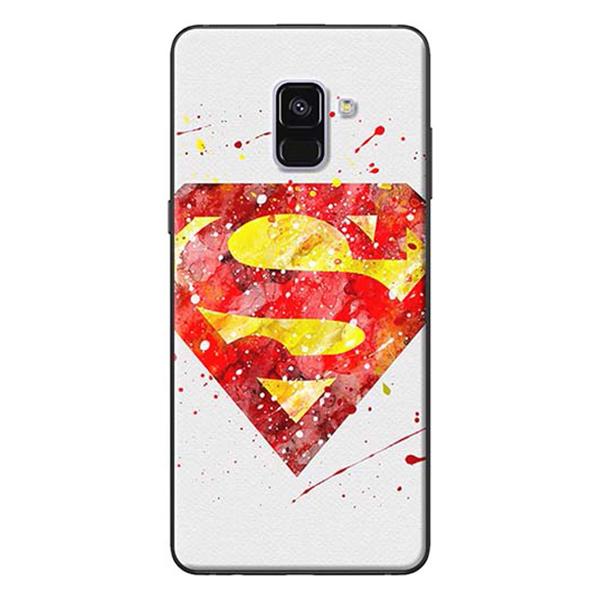 Ốp Lưng Dành Cho Samsung A8 Plus - Mẫu Superman