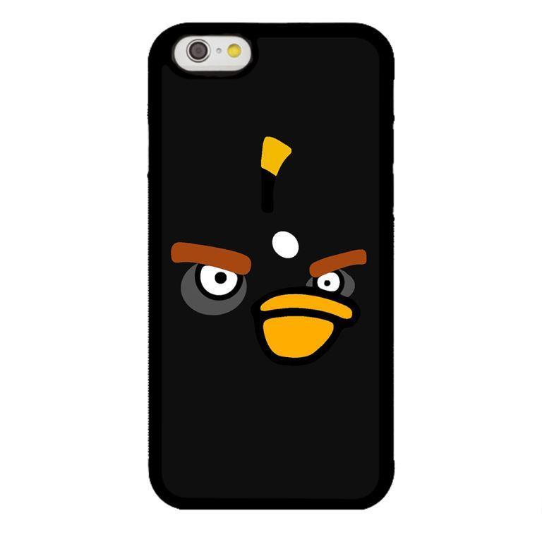 Ốp lưng dành cho điện thoại Iphone 6s Angry Đen