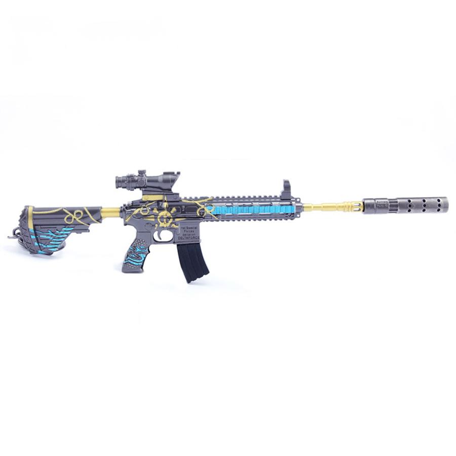 Móc khóa mô hình game PUBG - M416 Bãi Biển - 20,5cm
