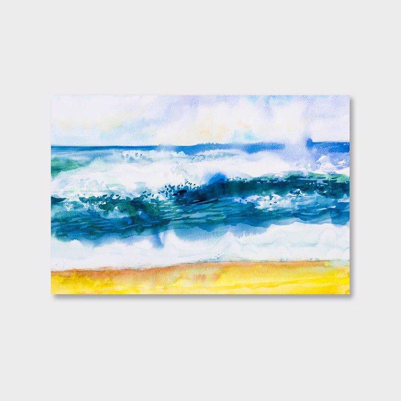Tranh Canvas Sóng Biển Lớn Vẽ Màu Nước - 2291483 , 6191910147238 , 62_14713579 , 509000 , Tranh-Canvas-Song-Bien-Lon-Ve-Mau-Nuoc-62_14713579 , tiki.vn , Tranh Canvas Sóng Biển Lớn Vẽ Màu Nước