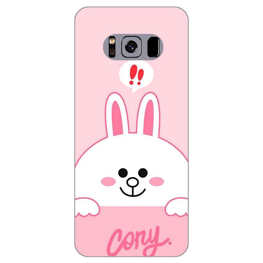 Ốp lưng dẻo cho Samsung Galaxy S8 Plus_Thỏ Cony