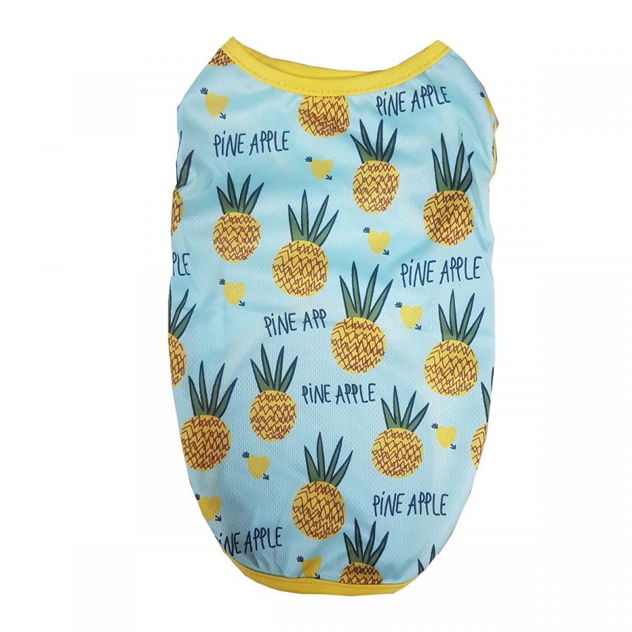 Áo chó mèo hoạt tiết pineapple - 1198256 , 5495878223227 , 62_7691619 , 67900 , Ao-cho-meo-hoat-tiet-pineapple-62_7691619 , tiki.vn , Áo chó mèo hoạt tiết pineapple