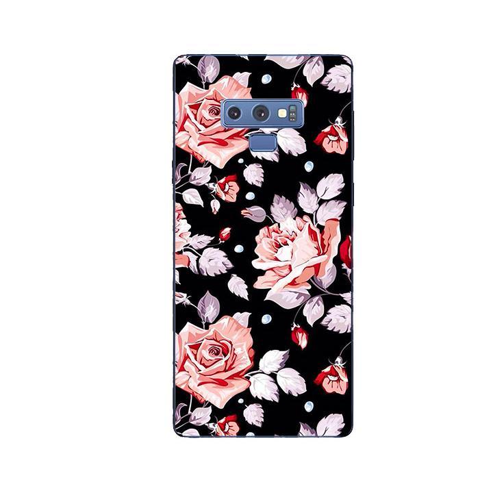 Ốp Lưng Dẻo Cho Điện thoại Samsung Galaxy Note 9 - Rose 03