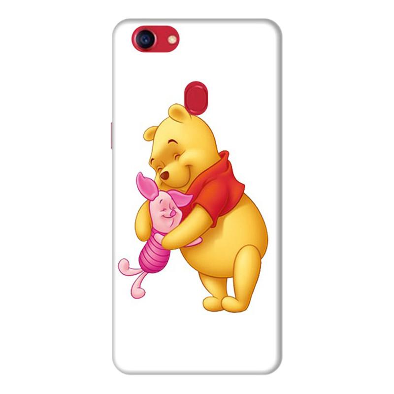Ốp Lưng Dành Cho Điện Thoai Oppo F7 Gấu Pooh - Mẫu 1