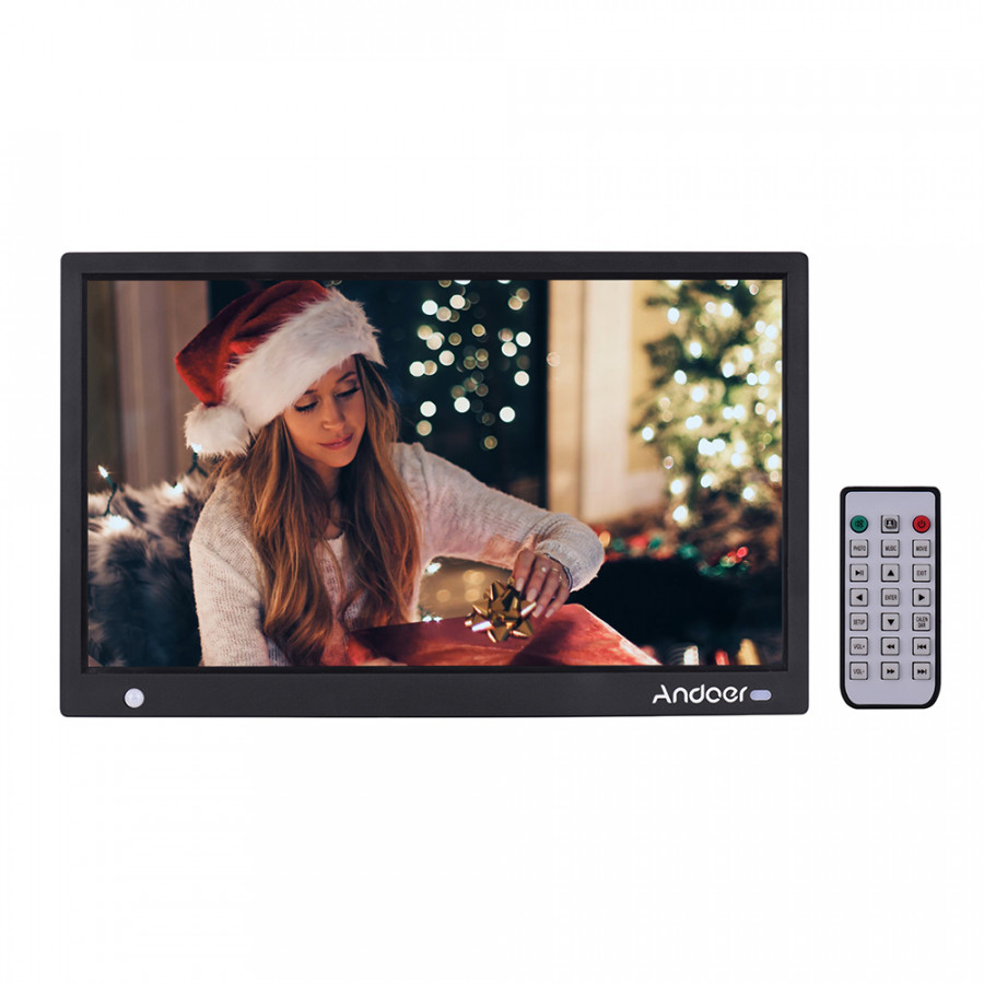 Andoer 15.6 Inch 1920x1080 IPS LED Digital Photo Frame Electronic Picture Album Advertising Machine Scroll Subtitle - 2370868 , 9186454008968 , 62_15523909 , 3427000 , Andoer-15.6-Inch-1920x1080-IPS-LED-Digital-Photo-Frame-Electronic-Picture-Album-Advertising-Machine-Scroll-Subtitle-62_15523909 , tiki.vn , Andoer 15.6 Inch 1920x1080 IPS LED Digital Photo Frame Elect