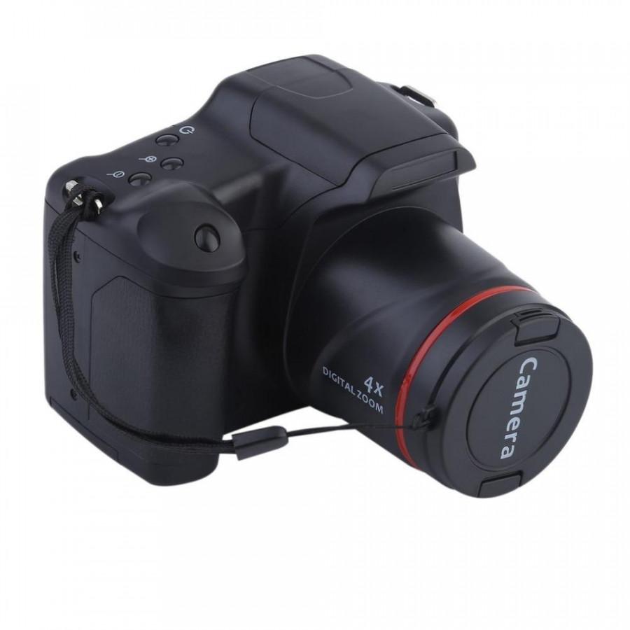 Digital Camera 720P 16X ZOOM DV Flash Lamp Recorder Wedding Record Digital Camera - Black