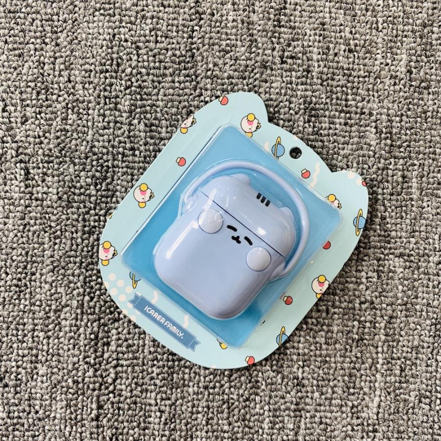 Case Airpods - Ốp bảo vệ Airpods 1/2 Silicon - Hình thú đeo tai phone