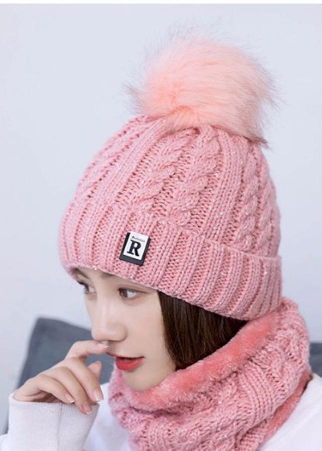 Mũ len nữ kèm khăn lót nỉ phong cách Hàn Quốc - 1423947 , 4052538220302 , 62_8339140 , 350000 , Mu-len-nu-kem-khan-lot-ni-phong-cach-Han-Quoc-62_8339140 , tiki.vn , Mũ len nữ kèm khăn lót nỉ phong cách Hàn Quốc