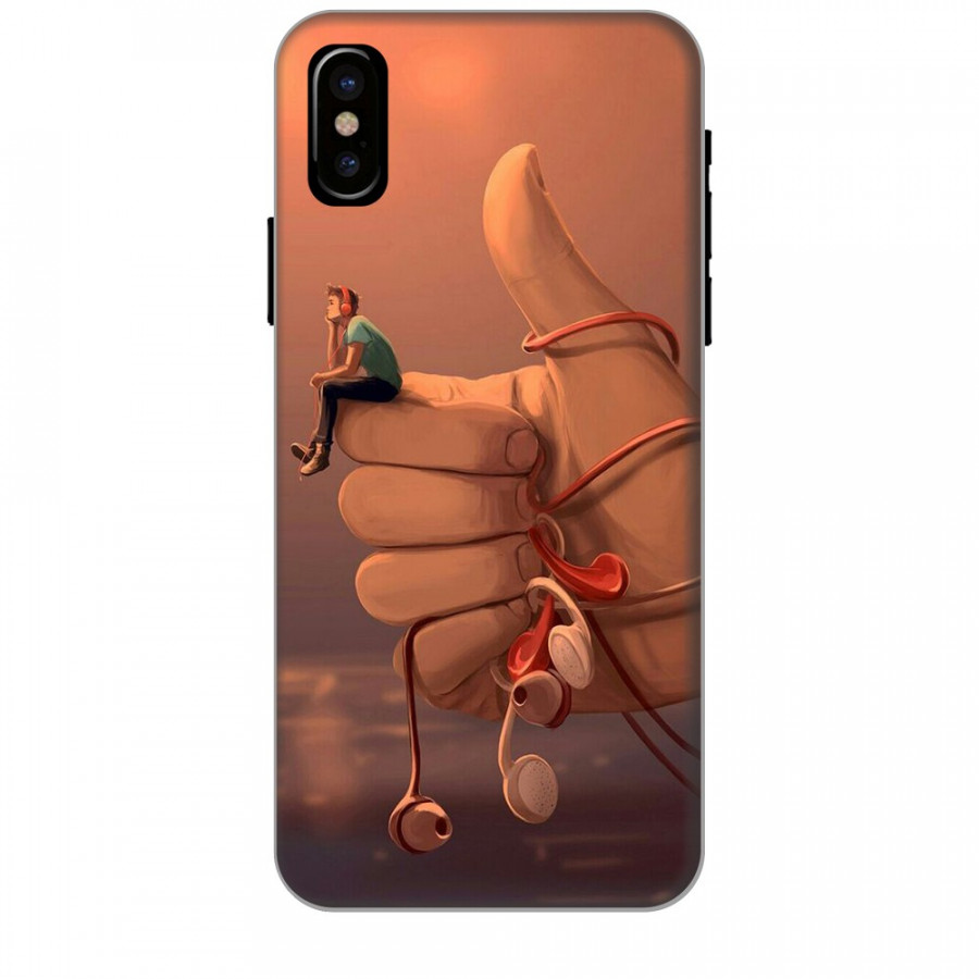 Ốp lưng dành cho điện thoại iPhone XR - X/XS - XS MAX - Cô Đơn Mình Anh