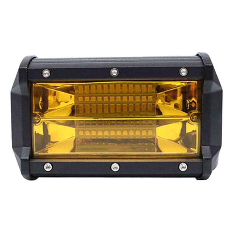 Đèn LED Trợ Sáng Xe Địa Hình Vàng (72W)