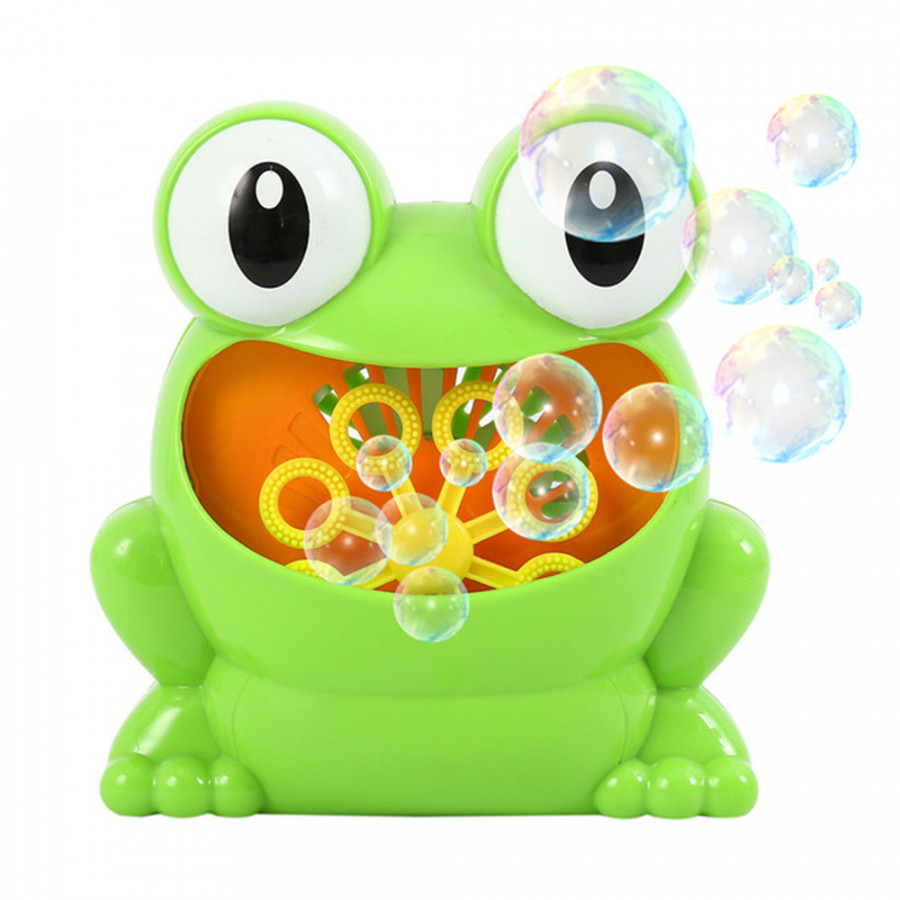 Magical Bubbles Blow Bubbles Cute Frog Green Shower Room Developmental