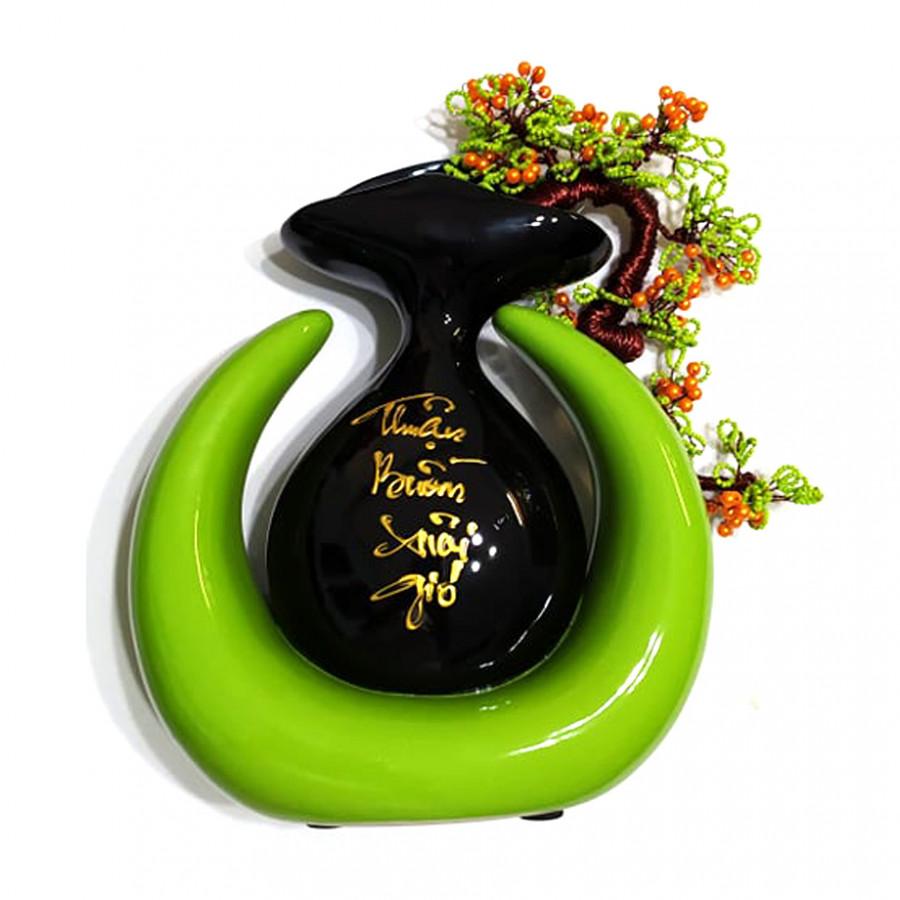 Bình bông gốm sứ nghệ thuật kiểu lọ sừng cầu kết hợp hoa đồng Tâm Thành phát - 2344395 , 9822452981840 , 62_15257667 , 400000 , Binh-bong-gom-su-nghe-thuat-kieu-lo-sung-cau-ket-hop-hoa-dong-Tam-Thanh-phat-62_15257667 , tiki.vn , Bình bông gốm sứ nghệ thuật kiểu lọ sừng cầu kết hợp hoa đồng Tâm Thành phát
