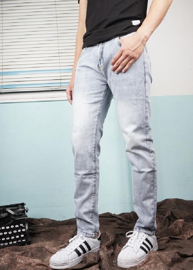 Quần Jeans Nam Trơn QB1782 - 9843062 , 5330219022209 , 62_17631325 , 580000 , Quan-Jeans-Nam-Tron-QB1782-62_17631325 , tiki.vn , Quần Jeans Nam Trơn QB1782