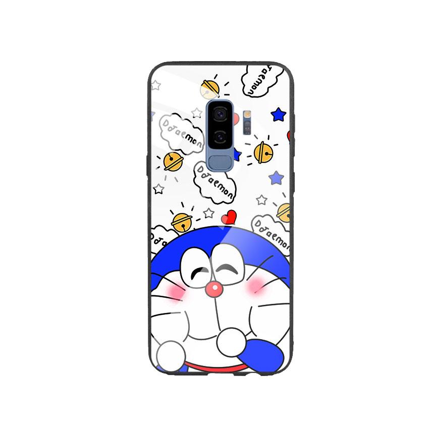 Ốp Lưng Kính Cường Lực cho điện thoại Samsung Galaxy S9 Plus - Doremon 03