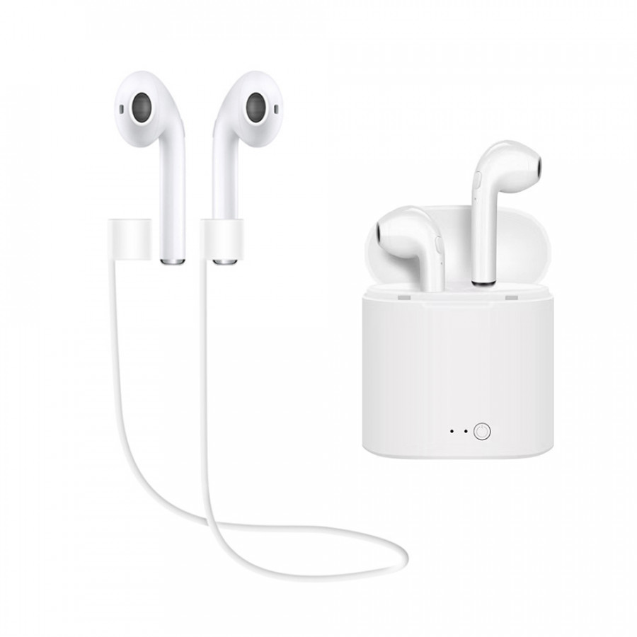 I7S BT Earphone TWS Headphones Portable Wireless Earphones With Charging Box Black - 860658 , 4117993478115 , 62_14583883 , 280000 , I7S-BT-Earphone-TWS-Headphones-Portable-Wireless-Earphones-With-Charging-Box-Black-62_14583883 , tiki.vn , I7S BT Earphone TWS Headphones Portable Wireless Earphones With Charging Box Black