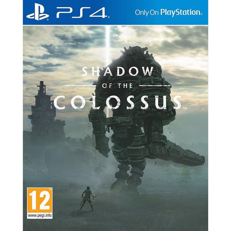 Đĩa Game Ps4: Shadow Of Colossus