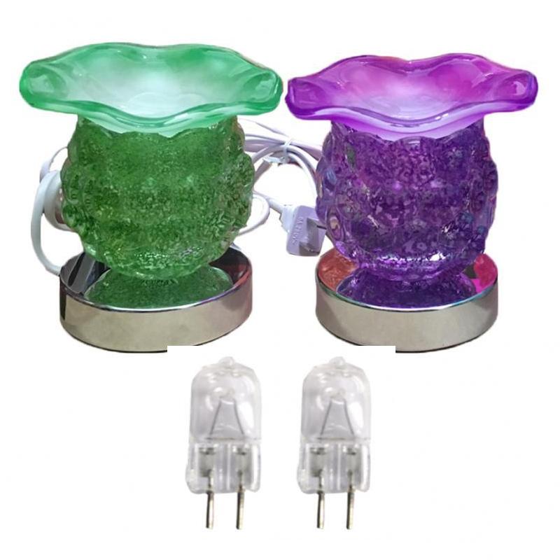 Combo 2 Đèn xông tinh dầu thủy tinh cảm ứng nho và 2 bóng đèn (Giao màu ngẫu nhiên) - 1128900 , 5747870800228 , 62_4310539 , 400000 , Combo-2-Den-xong-tinh-dau-thuy-tinh-cam-ung-nho-va-2-bong-den-Giao-mau-ngau-nhien-62_4310539 , tiki.vn , Combo 2 Đèn xông tinh dầu thủy tinh cảm ứng nho và 2 bóng đèn (Giao màu ngẫu nhiên)