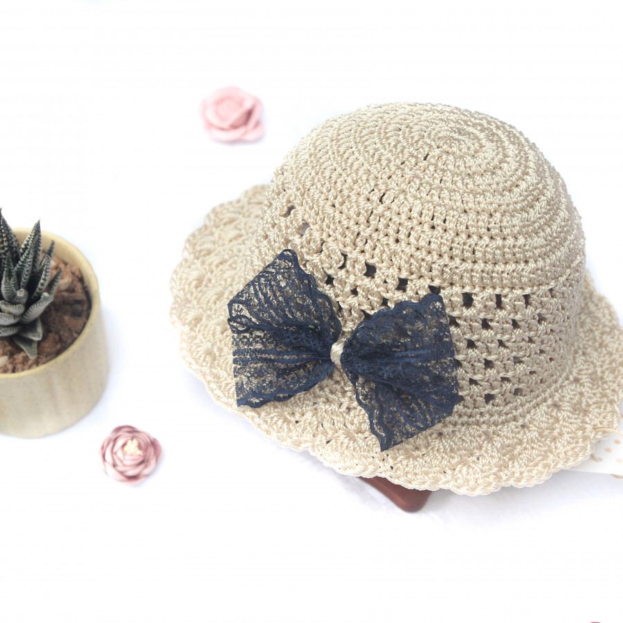 Mũ trẻ em dễ thương - Mũ kem nơ - Mũ nón Handmade by The Bunny