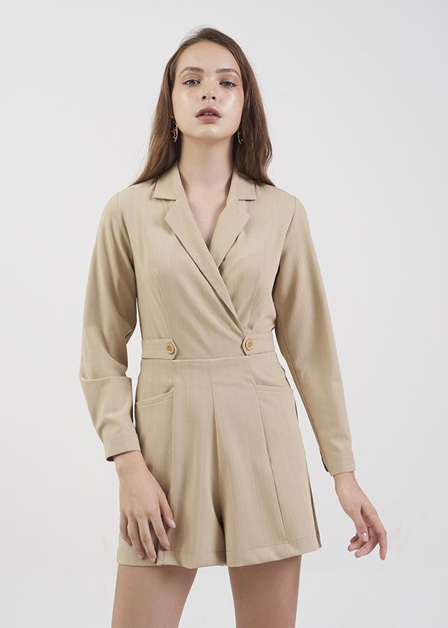 Jumsuit Nữ Đắp Chéo Cổ Danton Marc Fashion PH100618