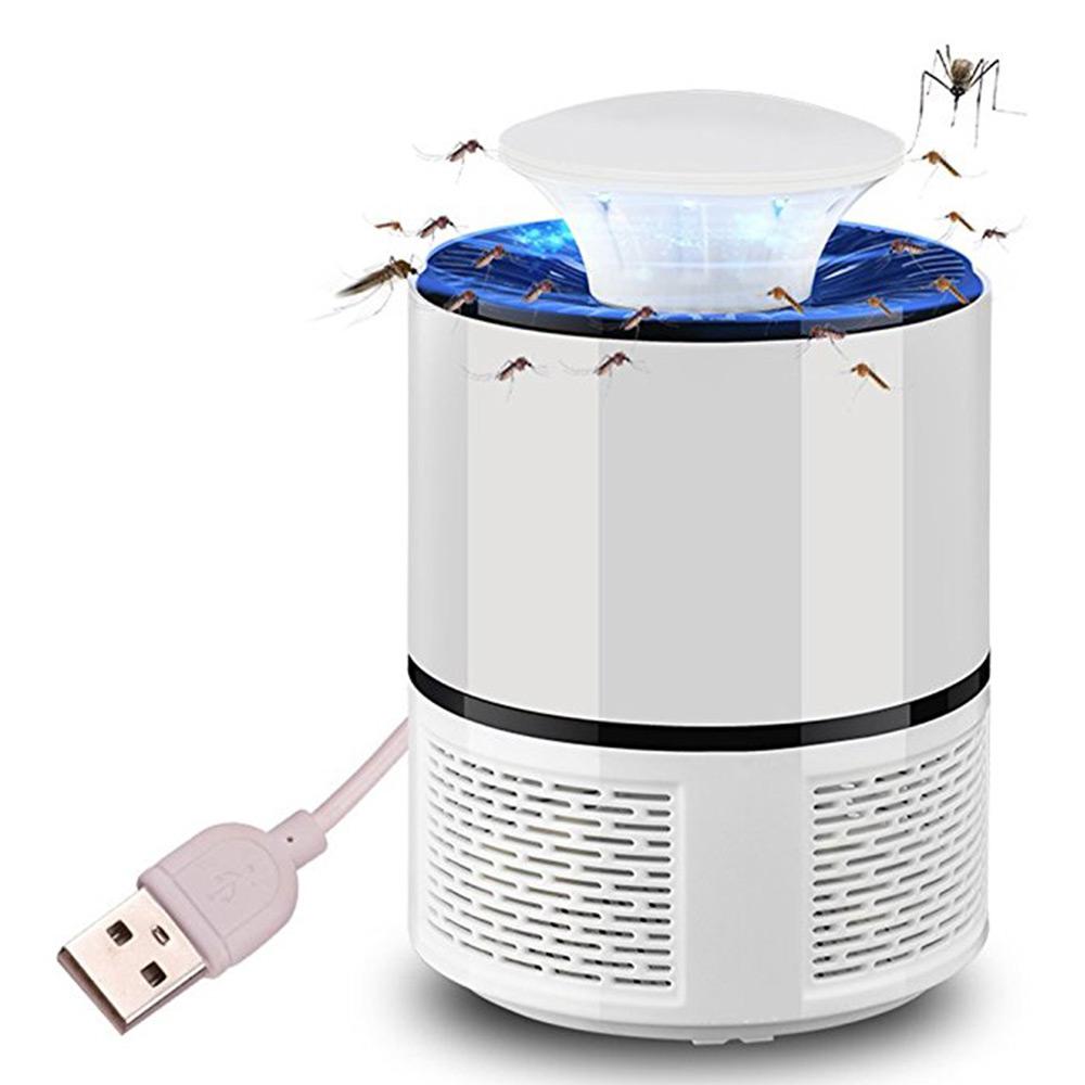 Đèn LED Diệt Muỗi Có Sạc USB
