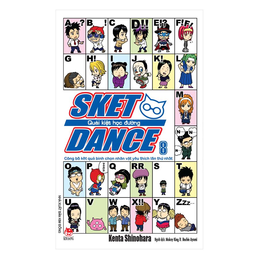 Sket Dance - Quái Kiệt Học Đường - Tập 8