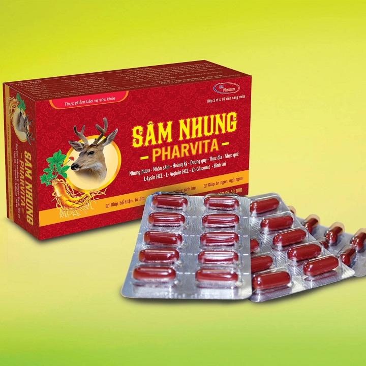 Thực phẩm chức năng SÂM NHUNG PHAVITA - 1895992 , 6988523134867 , 62_14534695 , 165000 , Thuc-pham-chuc-nang-SAM-NHUNG-PHAVITA-62_14534695 , tiki.vn , Thực phẩm chức năng SÂM NHUNG PHAVITA