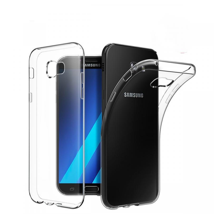 Ốp lưng dẻo Samsung Galaxy A7 2017 Ultra Thin (Trong suốt) - Hàng chính hãng