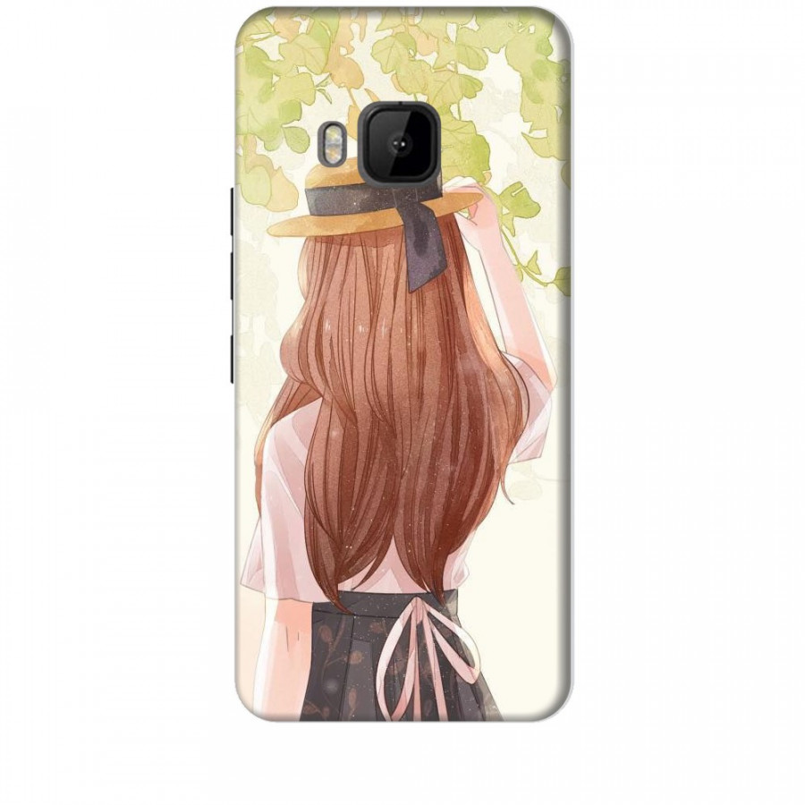 Ốp lưng dành cho điện thoại HTC M9 Phía Sau Một Cô Gái