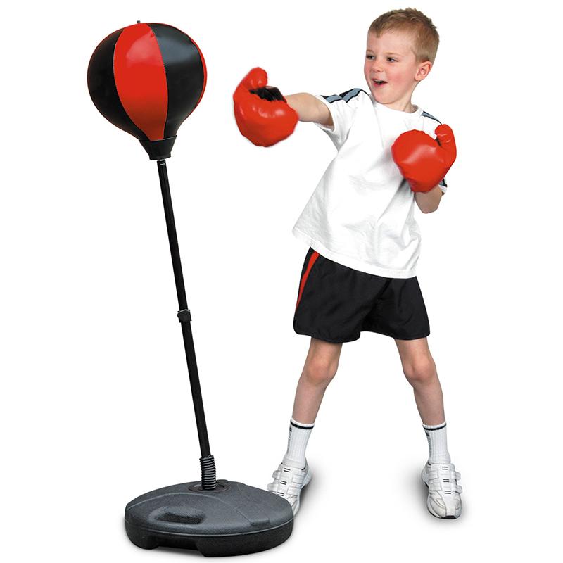 Bộ bóng đấm tốc độ lật đật cao 1.2m dành cho bé tập tại nhà