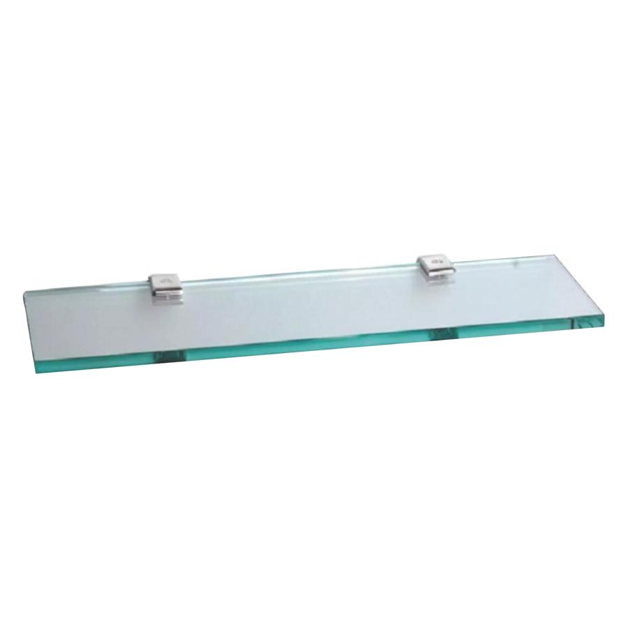 Kệ Gương Phòng Tắm Inox 304 Cao Cấp (Kính Cường Lực TP01) (500 x 120 x 10 mm)