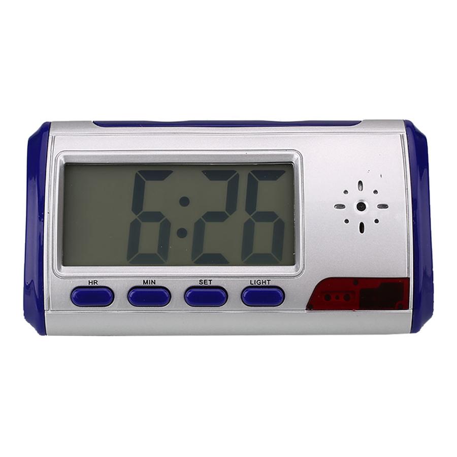 Alarm Clock Video Audio Recorder Spy Hidden Security Camera DV DVR Camcorder Cam