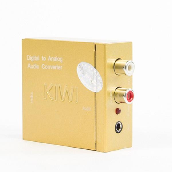 Bộ chuyển đổi âm thanh từ DIGITALl (Optical, Coaxial) sang ANALOG (L/R, Aux) KIWI DAC X3 - 1630286 , 1239338919626 , 62_11331283 , 290000 , Bo-chuyen-doi-am-thanh-tu-DIGITALl-Optical-Coaxial-sang-ANALOG-L-R-Aux-KIWI-DAC-X3-62_11331283 , tiki.vn , Bộ chuyển đổi âm thanh từ DIGITALl (Optical, Coaxial) sang ANALOG (L/R, Aux) KIWI DAC X3