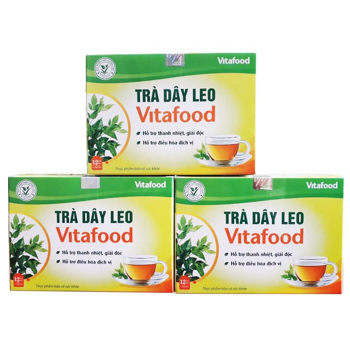 Combo 3 Hộp Trà Dây leo Vitafood