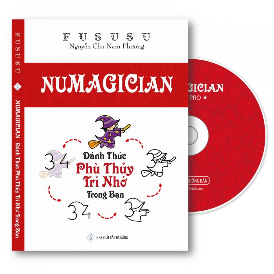 Combo Sách giấy Luyện Trí Nhớ Numagician kèm Đĩa Download và Quà FuSuSu