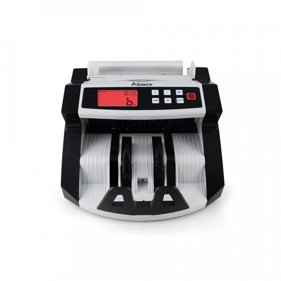 Aibecy Automatic Multi-Currency Cash Banknote Money Bill Counter Counting Machine LCD Display with UV MG Counterfeit - 2371041 , 4437559120785 , 62_15524549 , 2245000 , Aibecy-Automatic-Multi-Currency-Cash-Banknote-Money-Bill-Counter-Counting-Machine-LCD-Display-with-UV-MG-Counterfeit-62_15524549 , tiki.vn , Aibecy Automatic Multi-Currency Cash Banknote Money Bill Co