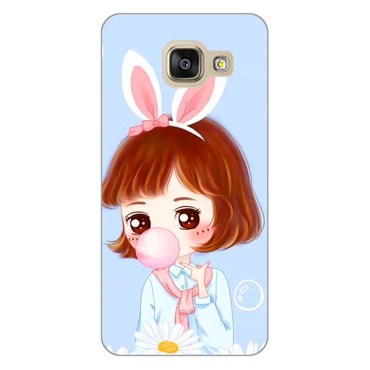Ốp lưng dẻo cho điện thoại Samsung Galaxy A3 2017 - Baby Girl 03