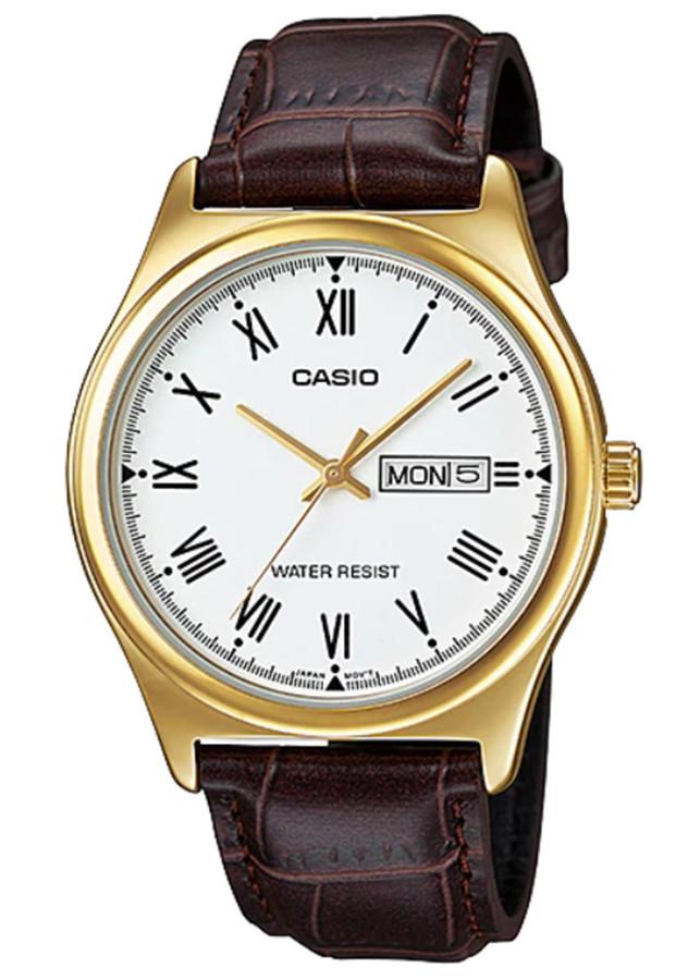 Đồng hồ nam dây da Casio MTP-V006GL-7BUDF - 1828881 , 5790100861933 , 62_13572698 , 846000 , Dong-ho-nam-day-da-Casio-MTP-V006GL-7BUDF-62_13572698 , tiki.vn , Đồng hồ nam dây da Casio MTP-V006GL-7BUDF