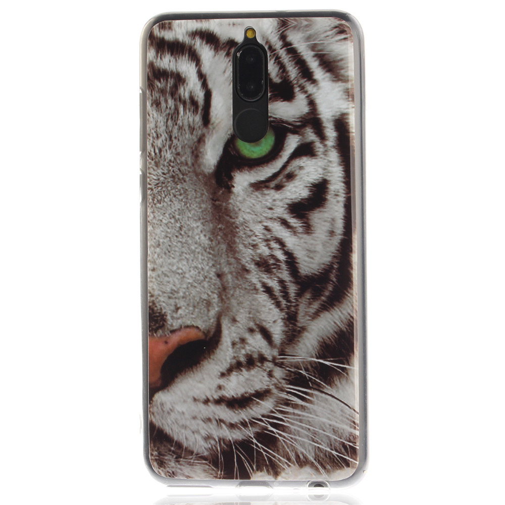 Huawei Mate 10 Lite Case Pattern Printed Soft Protective Cover for iPhone 5S/5